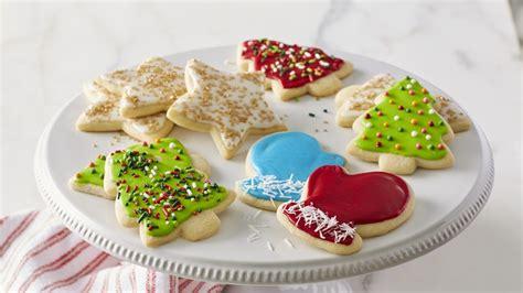 classic christmas sugar cookie cutouts recipe  betty