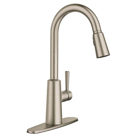 clean kitchen faucet faucet com 7402srs in spot resist stainless by moen