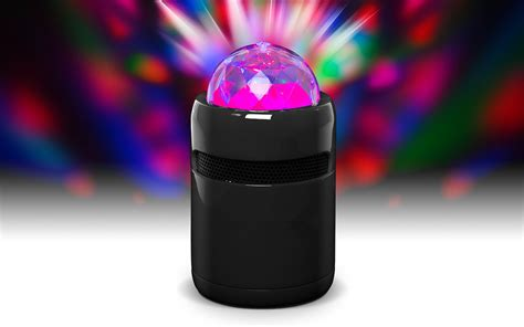 speaker with disco light bluetooth speaker with rotating light j y