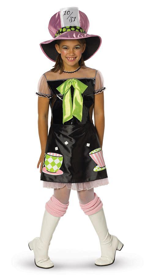 Mad Hatter Child Girls Costume Costumescomau