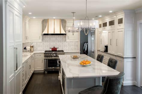 superior woodcraft white transitional kitchen