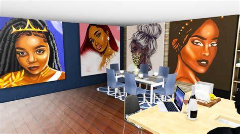 Sims 4 Urban Cc Art