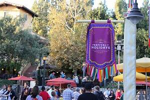Festival of Holidays at the Disneyland Resort and an ...