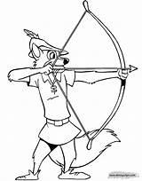 Robin Hood Coloring Pages Disney Robinhood Maid Disneyclips Marian Colouring Printable Horse Arrow Drawing John Skippy Sheets Robins Walt Draw sketch template