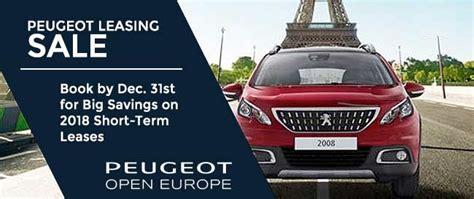 Long Term Car Rental Peugeot Open Europe Leasing Buy