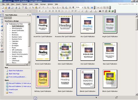 caracteristicas template aprende publisher caracteristicas de publisher