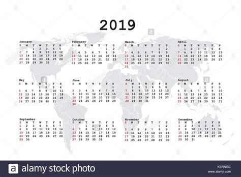 Year 2019 Vector Vectors Stock Photos & Year 2019 Vector