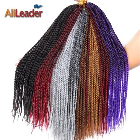 Alileader Hair Products 18 Inch Small Senegalese Twist