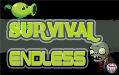 zombies vs plants endless survival flags survive setup deal special many beyond