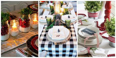 32 christmas table decorations centerpieces ideas for