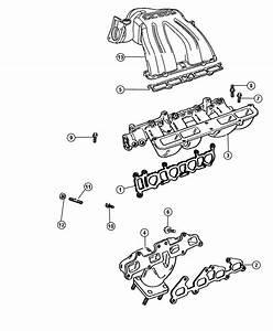 2005 Dodge Caravan Manifolds  Intake And Exhaust 2 4l