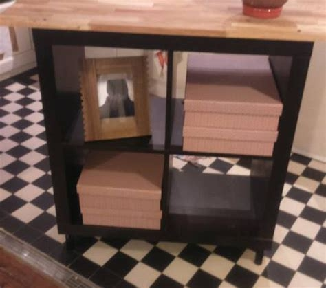 relooking cuisine chene relooking meuble kallax 4 cases
