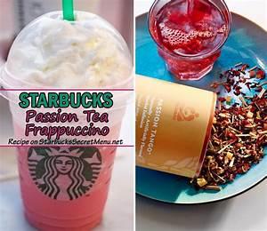 Starbucks Passion Tea Frappuccino | Starbucks Secret Menu