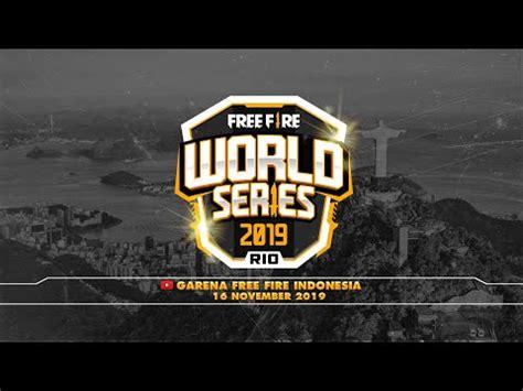 Freefire wrld series obb files: 2019 Free Fire World Series - Rio de Janeiro, Brazil ...