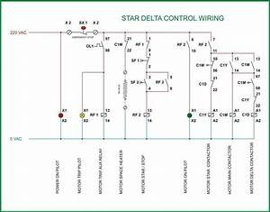 Star Delta Starter Control Diagram Electrical For Android