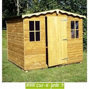Abri De Jardin 5m2 Bois : abri de jardin europe bois trait 15mm de 5m2 250x200 cour et jardin ~ Dallasstarsshop.com Idées de Décoration
