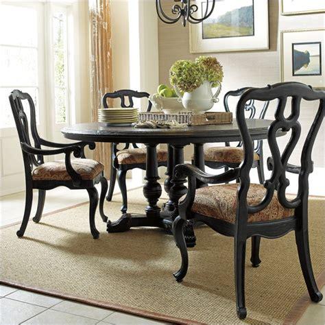stanley furniture portfolio rustica dining 64 quot round table