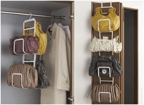 Creative Purse Handbag Organizer Closet