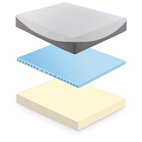 cool gel memory foam mattress tranquil sleep 174 cooling gel 8 quot memory foam mattress