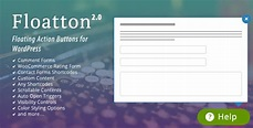 Floatton v2.0 - WordPress Floating Action Button with Pop-up Contents - UnlockPress.com