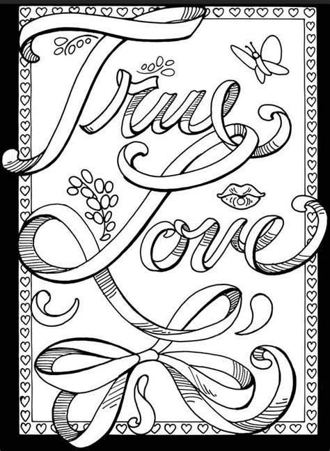 printable love coloring pages  adults coloring panda   printable malarboecker