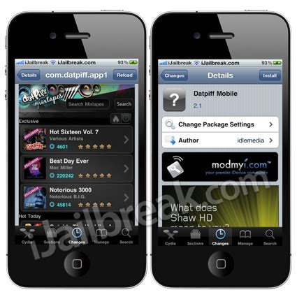 mobile cydia datpiff mobile spotfb cydiabulletin and checkpwn cydia