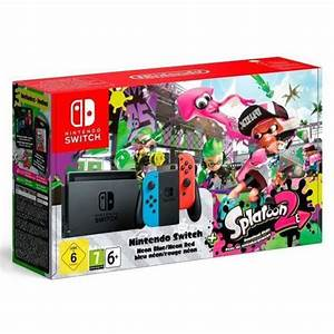 Nintendo Switch Splatoon 2 Bundle GameStop