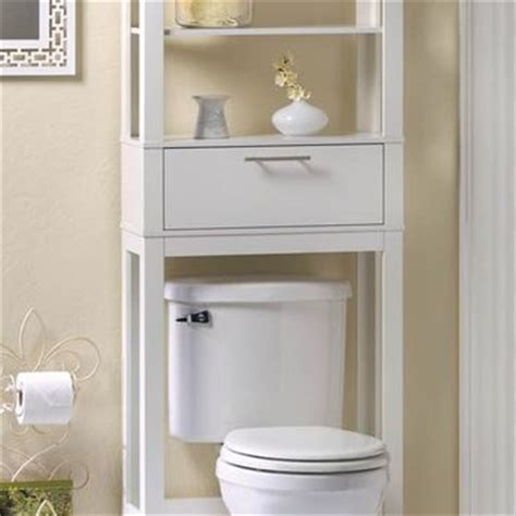 White Space Saver Bathroom Cabinet by Vogue Bathroom 2 Shelf Space Saver White From P J Sales