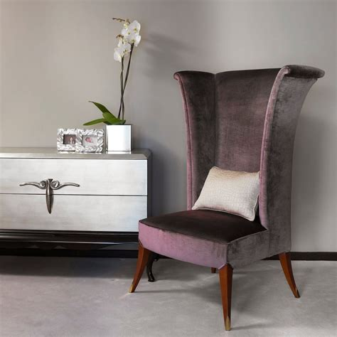 high  wing chair bedroom contemporary