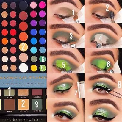 Charles James Palette Using Makeup Eyeshadow Looks