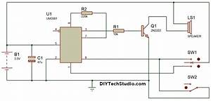Diytechstudio  How To Make A Siren Generator  Ambulance