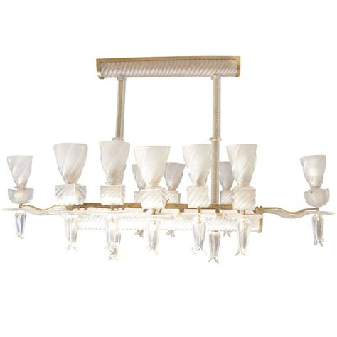 large rectangular chandelier at 1stdibs