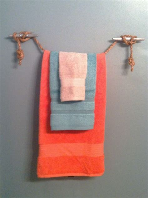 nautical towel rack 5 nautical towel holder my projects