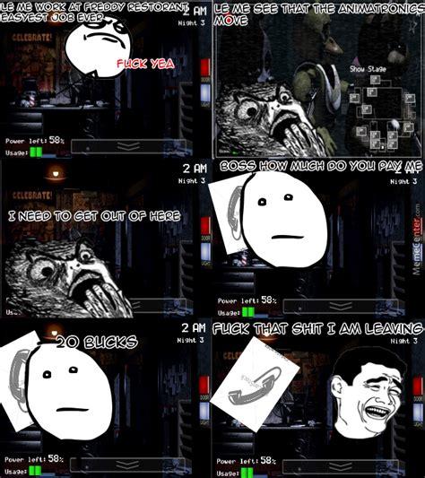 Five Nights At Freddy S Memes - five nights at freddy rage comic by nikolay meme meme center