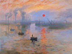 Impression Sunrise - Monet - oil painting reproduction ...