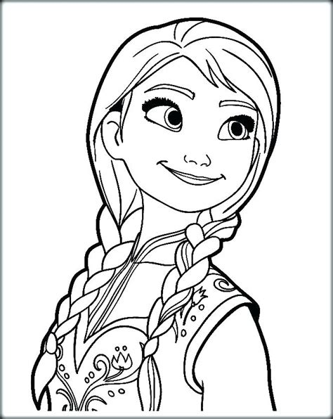 elsa  anna coloring pages printable  getcoloringscom