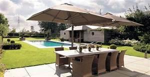 Grand Parasol Rectangulaire : parasol rectangulaire les meilleurs parasols rectangulaire parasol d port ~ Teatrodelosmanantiales.com Idées de Décoration