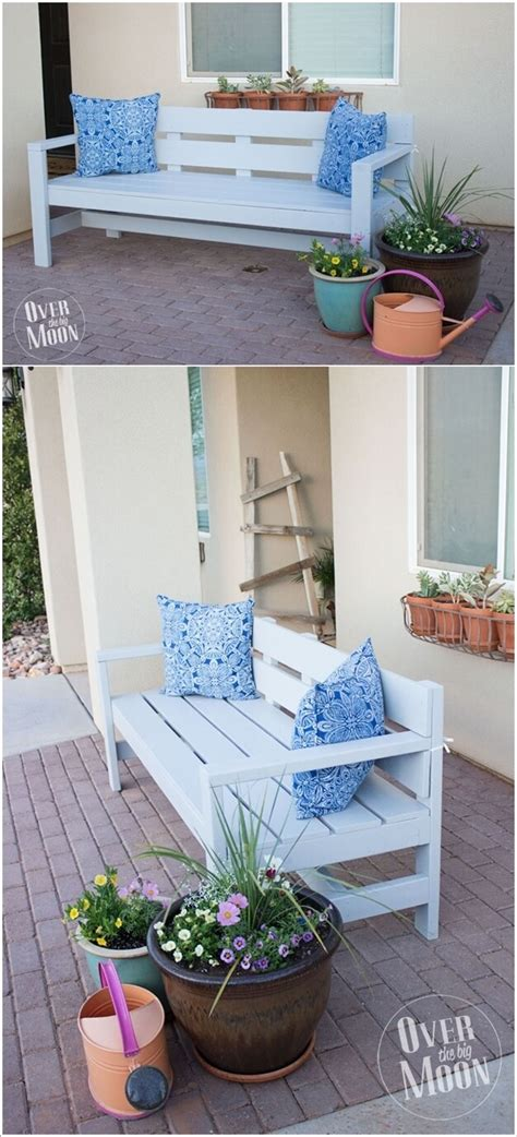awesome diy front porch bench ideas