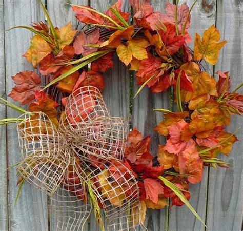autumn wreath ideas top 38 amazing diy fall wreath ideas with full tutorials amazing diy interior home design