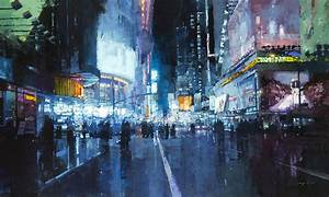 Gritty new cityscapes by jeremy mann colossal for Gritty new cityscapes by jeremy mann