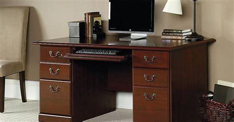 sauder office port executive desk assembly sauder 174 heritage hill 60 quot executive desk 29 quot h x 59 1 2 quot w