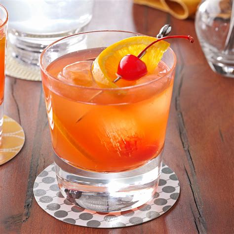 fashioned recipe brandy old fashioned sweet recipe taste of home