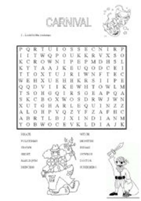 English Teaching Worksheets Carnival