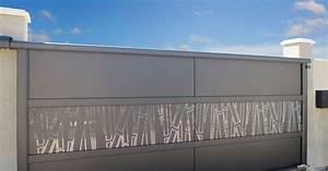 portail coulissant autoportant leroy merlin With table de jardin aluminium leroy merlin 5 portail coulissant aluminium concarneau gris anthracite