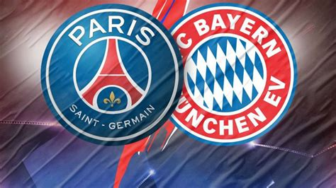 Paris Saint-Germain v/s Bayern Munich | Champions League ...