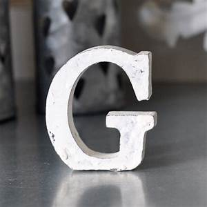 letter g shabby chic miljogarden webshop mixin home With small white wooden letters