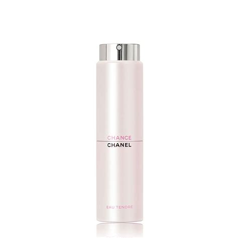 chance eau de toilette spray chanel chance eau tendre eau de toilette twist and spray 3 x 20ml feelunique