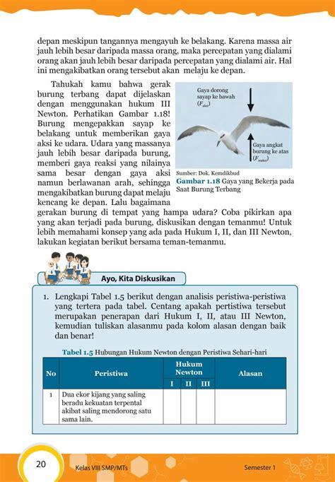 Revisi pertama pada tahun 2014, dilanjutkan revisi tahun 2016, dan terakhir adalah edisi revisi 2017. Kunci Jawaban Buku Paket Ipa Kelas 8 Semester 1 Halaman 204