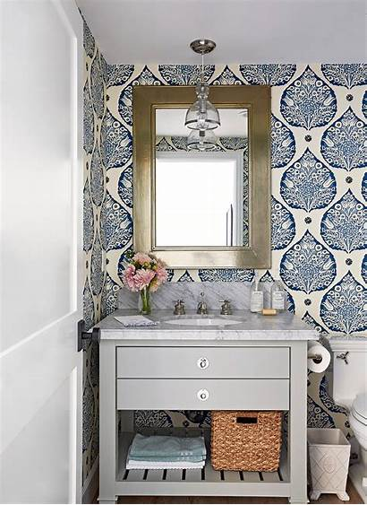 Half Bathroom Bath Powder Baths Guest Vanity