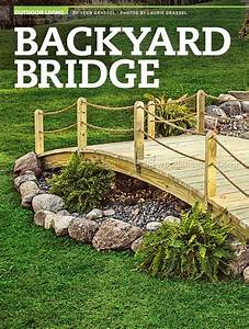 Backyard Bridge Plans • WoodArchivist
